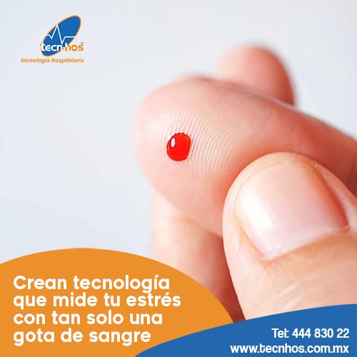Crean tecnología que mide tu estrés con tan solo una gota de sangre