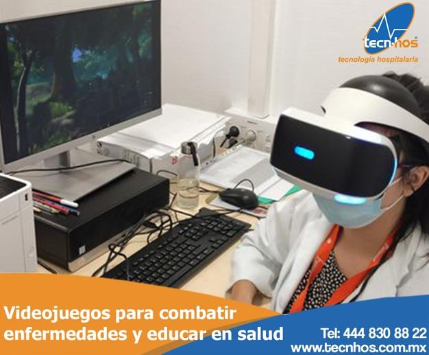 Videojuegos para combatir enfermedades y educar en salud