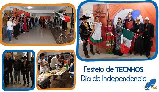 Día de la Independencia en TECNHOS