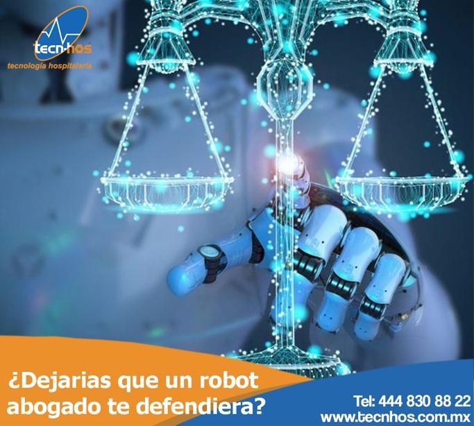 ¿Dejarías que un abogado robot te defendiera?